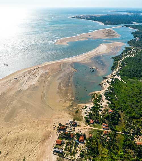 kitesurf au Brésil à Patos