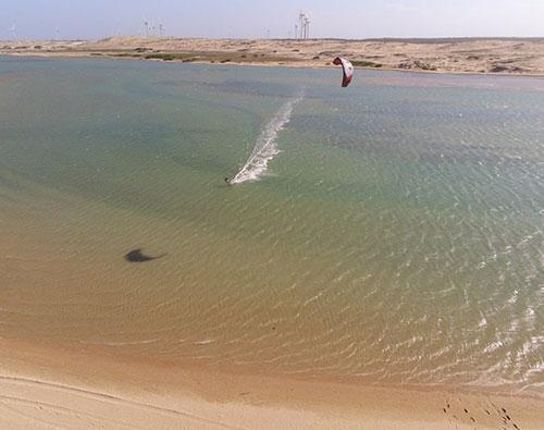 spot de kitesurf au Brésil